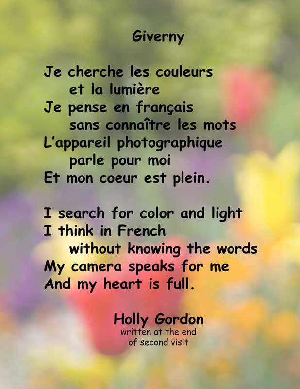 Giverny Poem