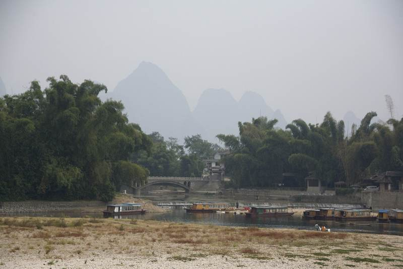 Guilin's Karst Mountains