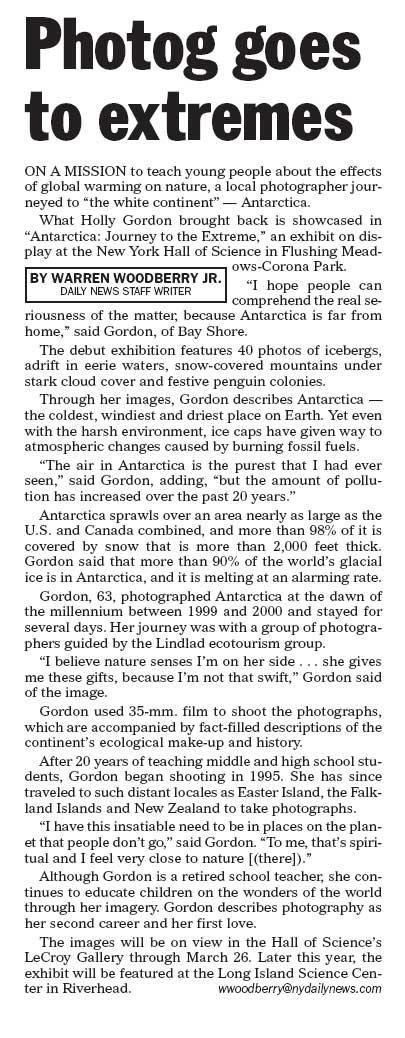 New York Daily News 2-19-06