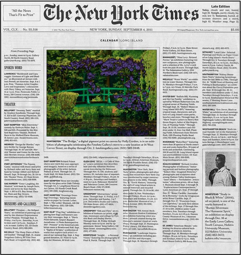New York Times 9-4-2011
