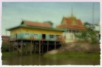 Tonlé Sap Lake, Buddhist Monastery