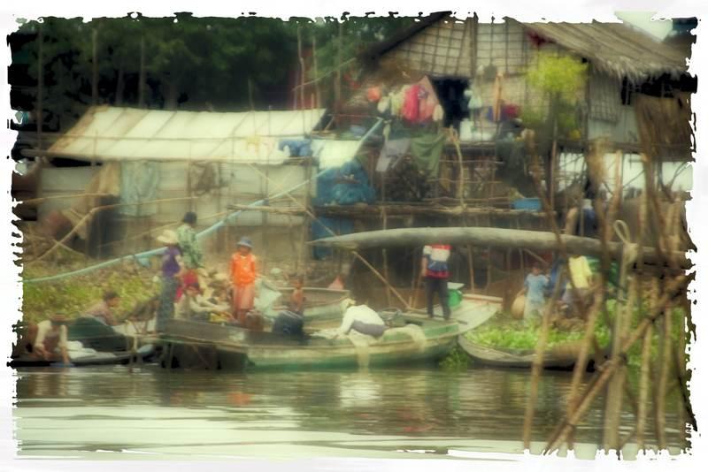 Tonlé Sap Lake, Fishing Village