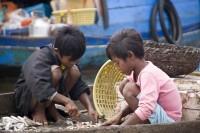 Tonlé Sap Lake, Fishing Village Workers