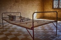 Prison Cell in the Genocide Museum