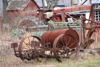 Farm Machinery at Rest
