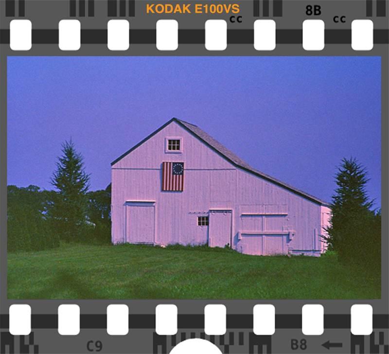 Kodak E100VS American Icon