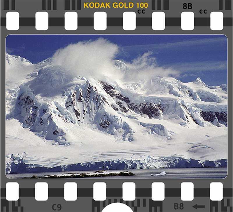 Kodak Gold 100 Antarctica