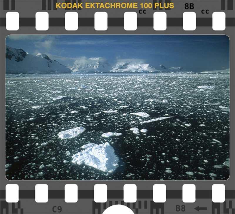 Kodak Ektachrome 100 Antarctica