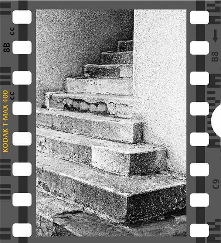 Kodak Max 400 Stairs