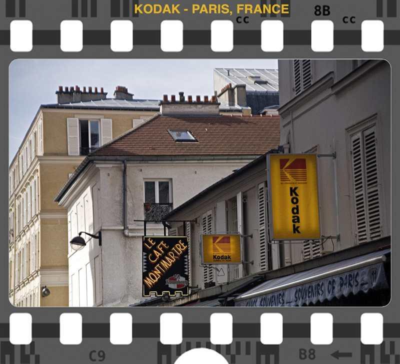 Kodak Paris, France