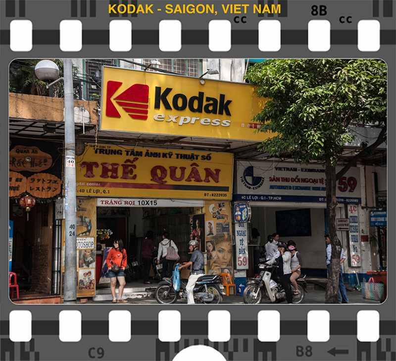 Kodak Saigon, Vietnam