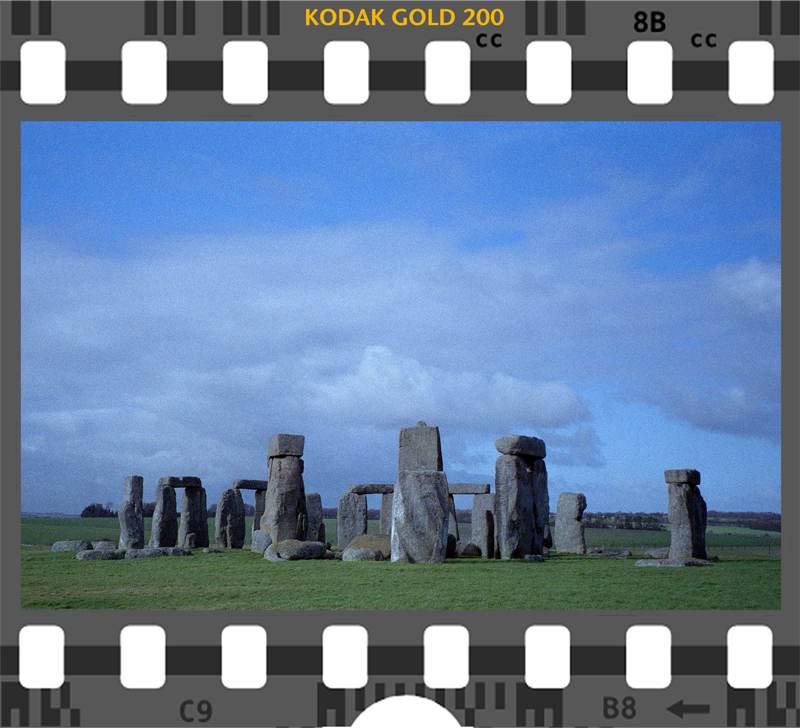 Kodak Gold 200 Stonehenge