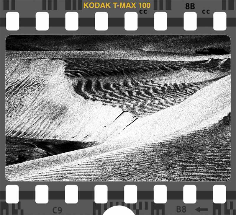Kodak T Max 100 Baja Dunes