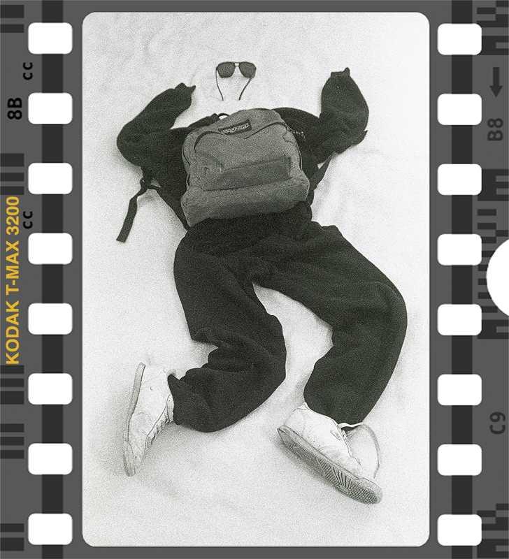 Kodak T Max 3200 Run