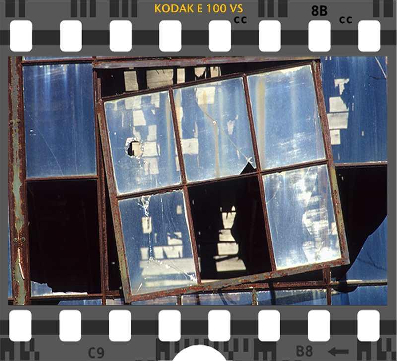 Kodak E 100VS Urban Decay