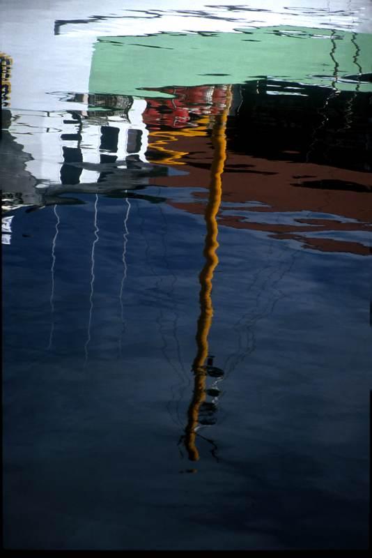 Hobart Harbor Reflection #2