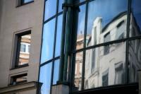 Paris Street Reflection