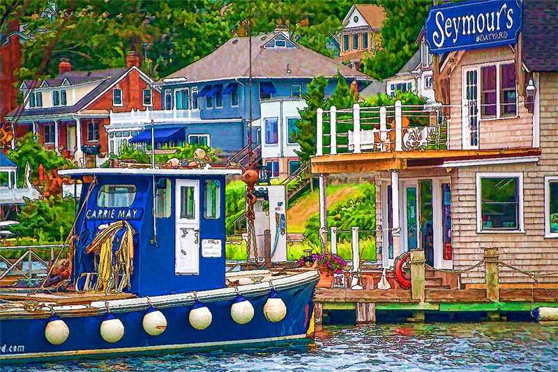Holly Gordon: Seymour's Boatyard