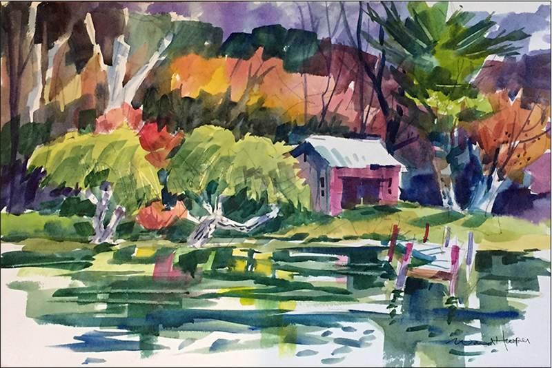 Ward Hooper: Cold Spring Harbor Pond