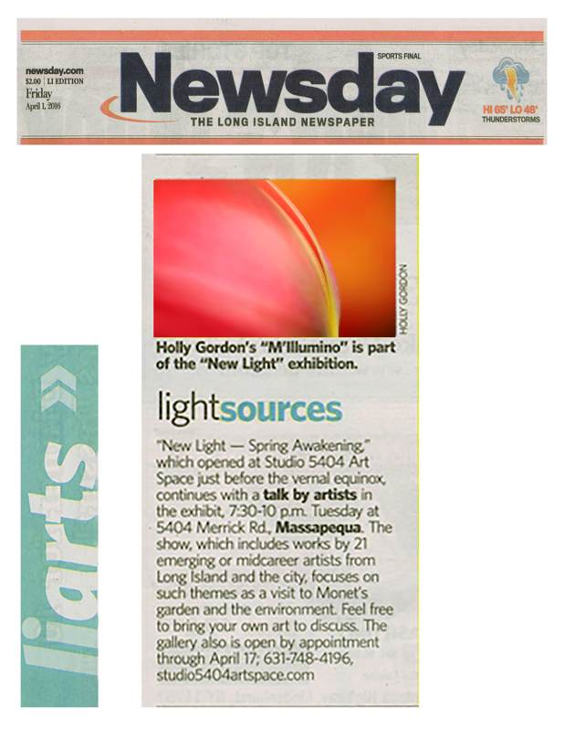 Newsday M'Illumino