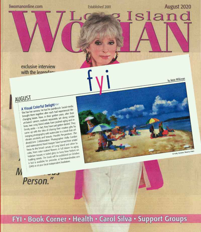 Long Island Woman Magazine provides first glimpse into book
