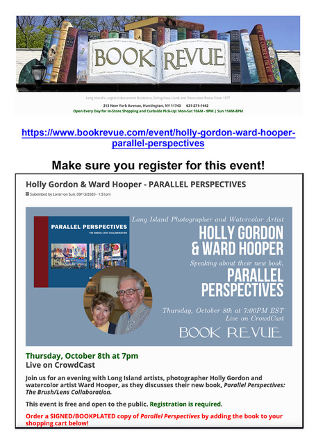 Huntington Book Revue event