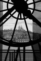 Sacré-Coeur through Le Tour Eiffel