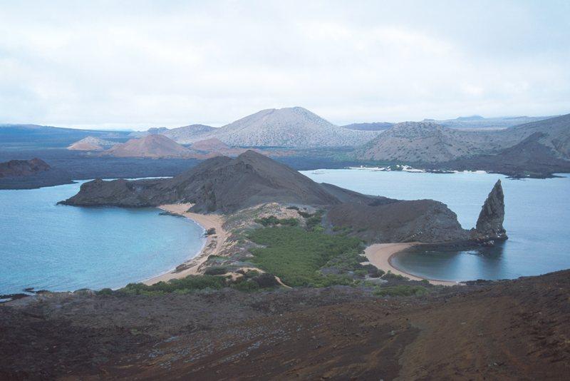 Pinnacle Rock on Bartolomé, Sulivan Bay (Bartholomew Island)